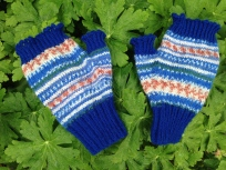 Halvvantar - fingerless mitts